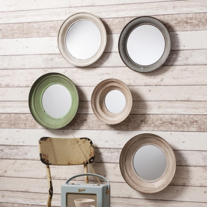 Set of 5 Crosby Wall Mirrors