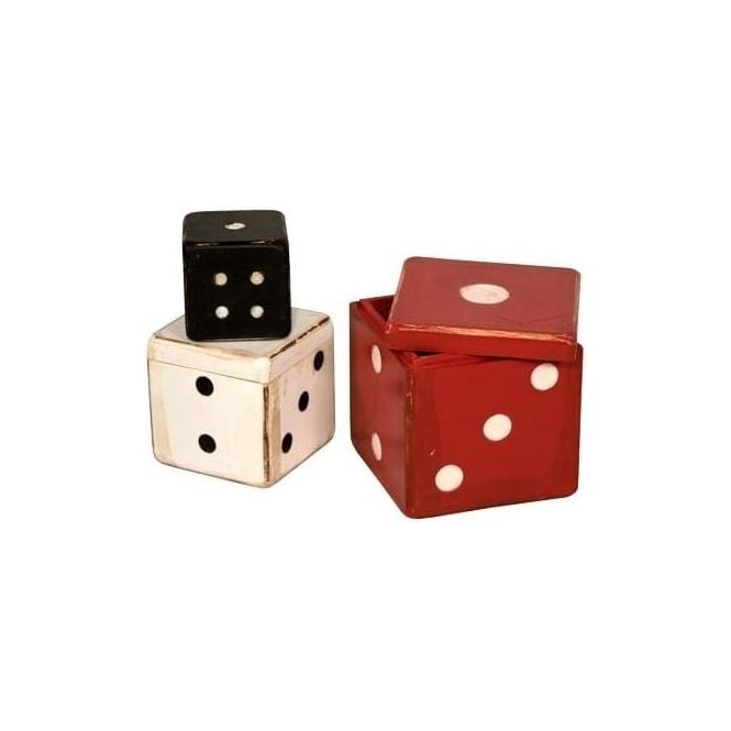 Set Of Dice Boxes