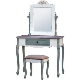 Shabby Chic Dressing Table Set