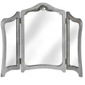 Shabby Chic Silver Leaf Dressing Table Mirror