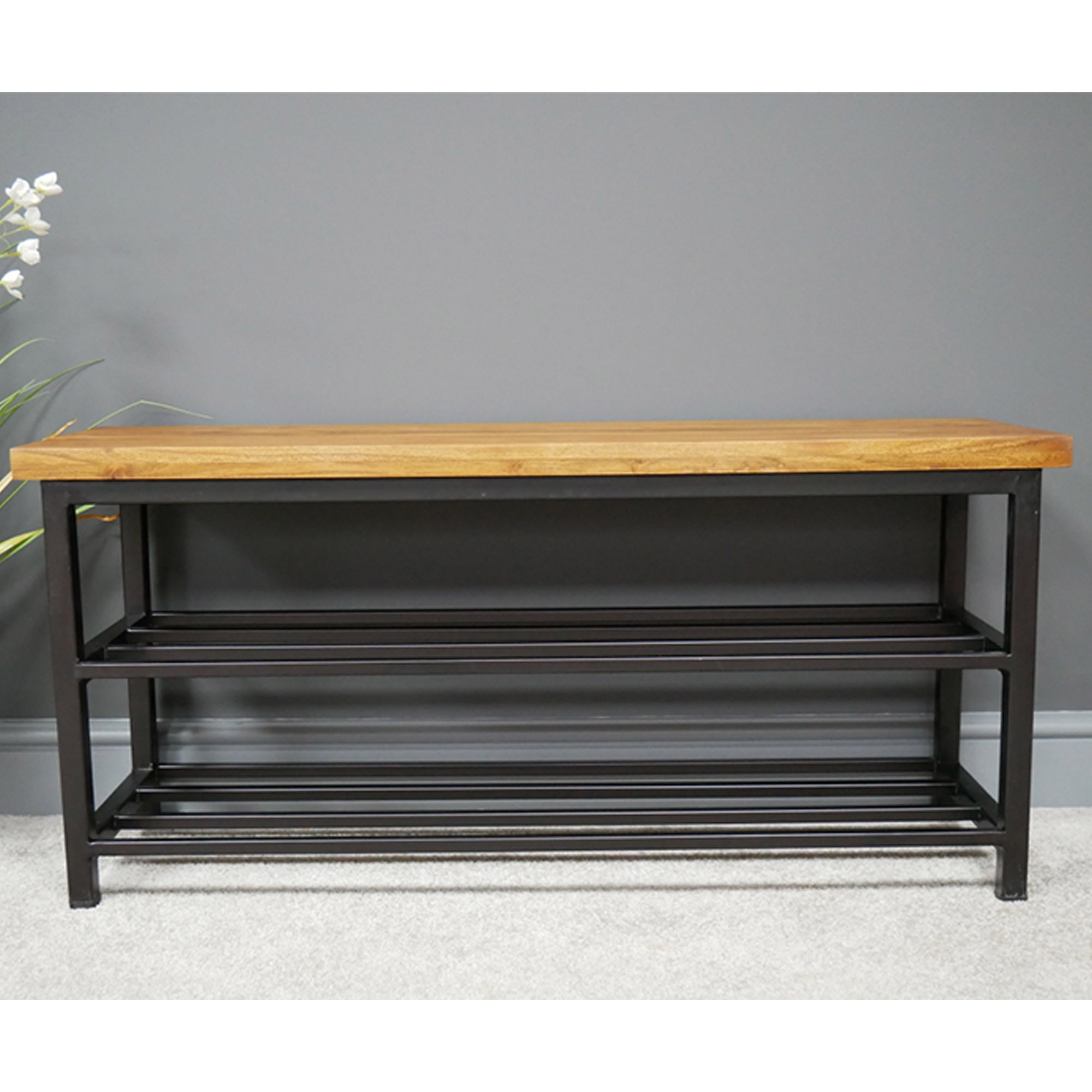Shoe Storage Bench Contemporary Modern Furniture Benches