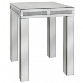 Siena Mirrored End Table