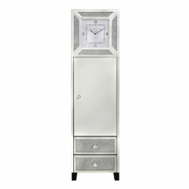 Siena Mirrored Grandfather Clock