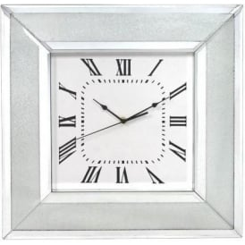 Siena Mirrored Wall Clock