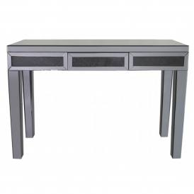 Siena Smoked Mirrored Console Table