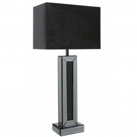 Siena Smoked Mirrored Table Lamp