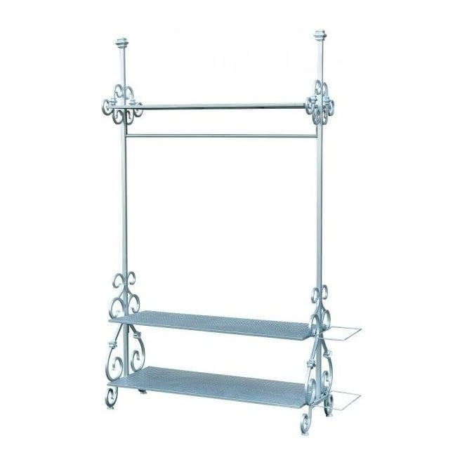 Silver Antique French Style Coat Stand