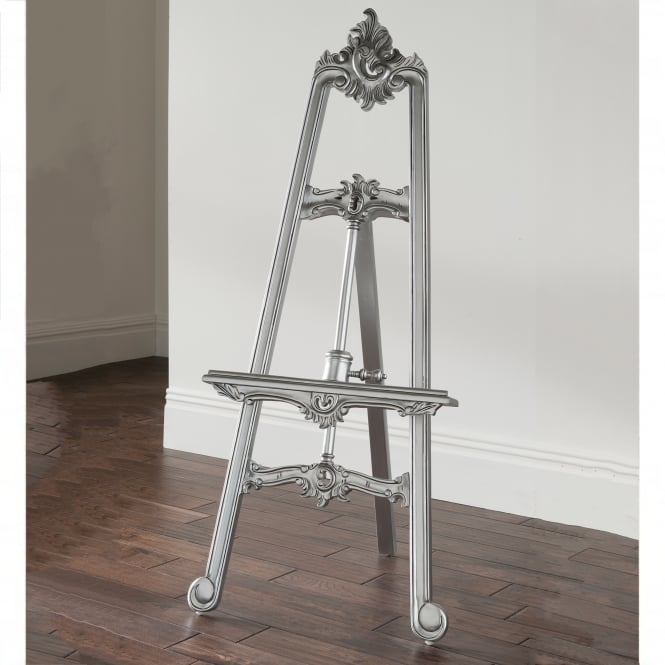 Silver Antique French Style Easel
