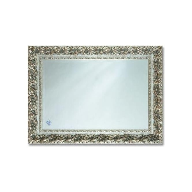 Silver Antique French Style Mirror 2