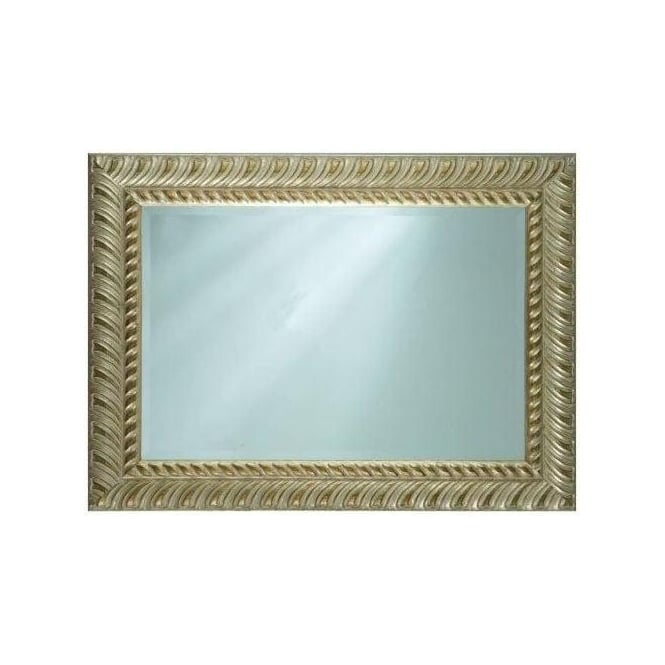 Silver Antique French Style Mirror 3