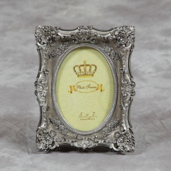 Silver Antique French Style Photo Frame