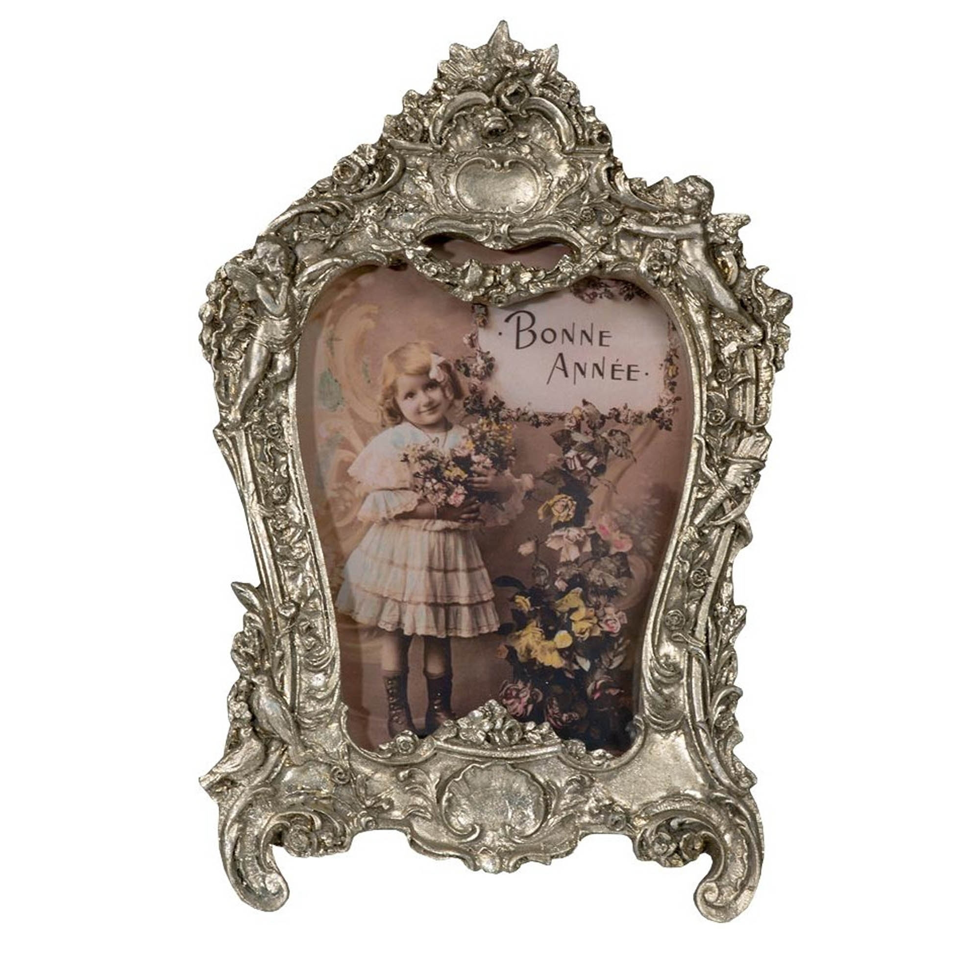 Silver Antique French Style Photo Frame | Photo Frames