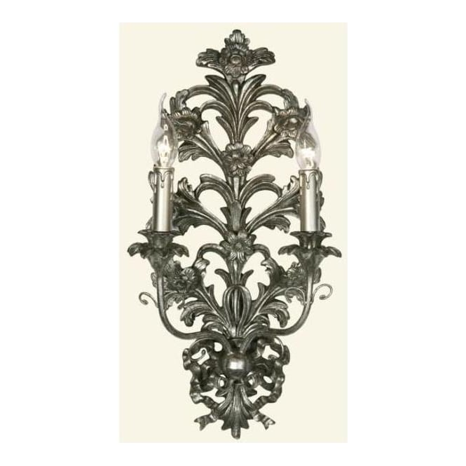 Silver Antique French Style Wall Light