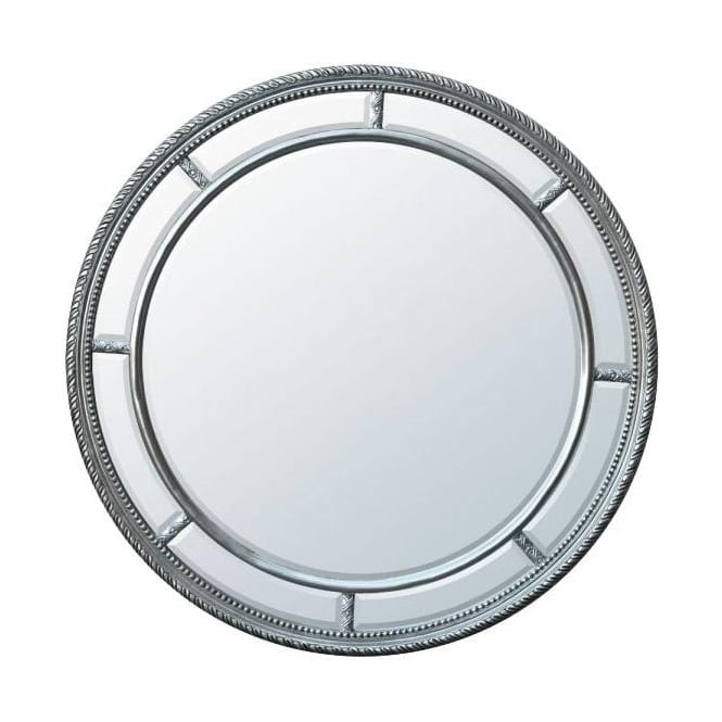 Silver Bevelled Mirror