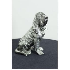Silver Bloodhound Dog