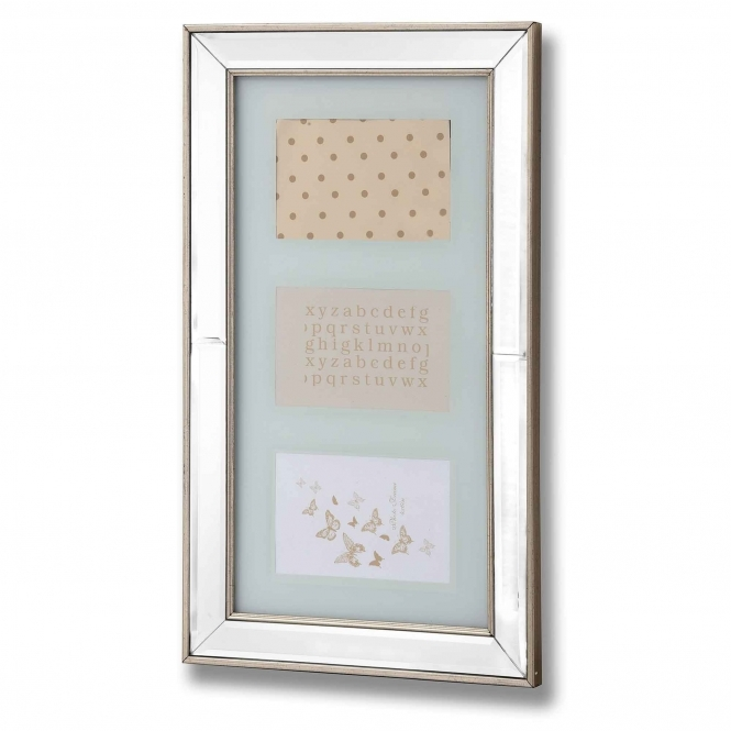 Silver Bordered Multi Photo Frame