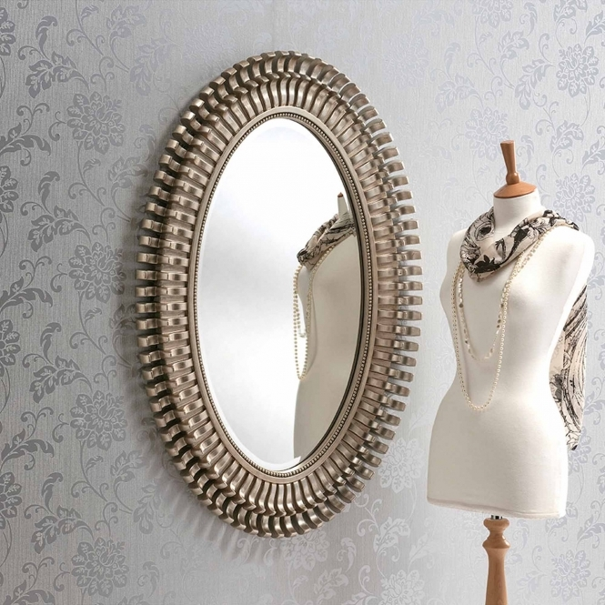 Silver Decorative Mirror