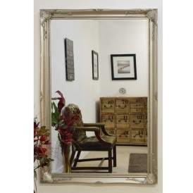 Silver Deorative Antique French Style Mirror