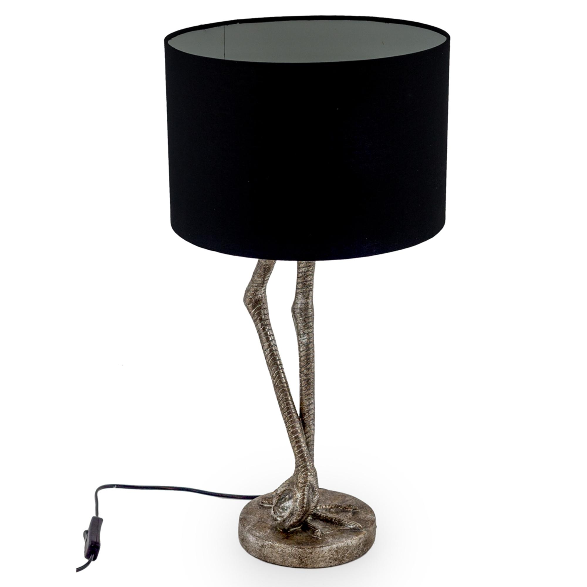 Silver Flamingo Leg Table Lamp Modern Lighting Online Now