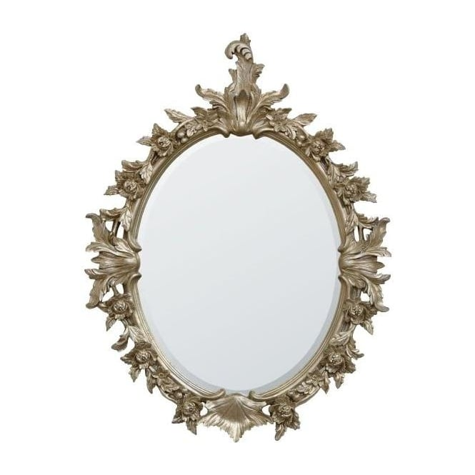 Silver Gilt Antique French Style Mirror