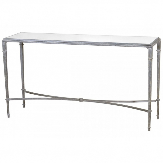 Silver Gin Shu Parisienne Slim Console Table