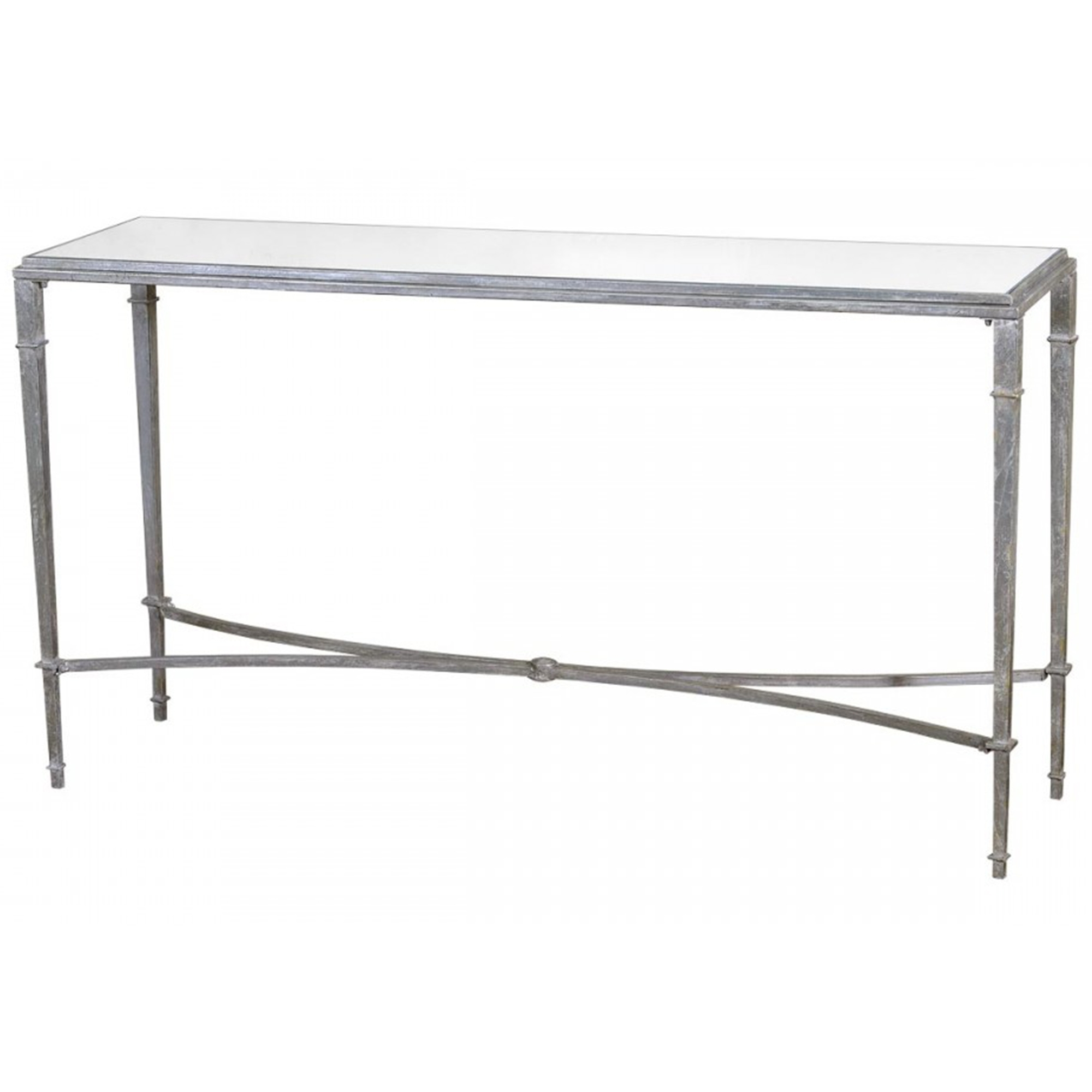 Silver gin shu parisienne slim console table french furniture silver gin shu parisienne slim console table geotapseo Image collections