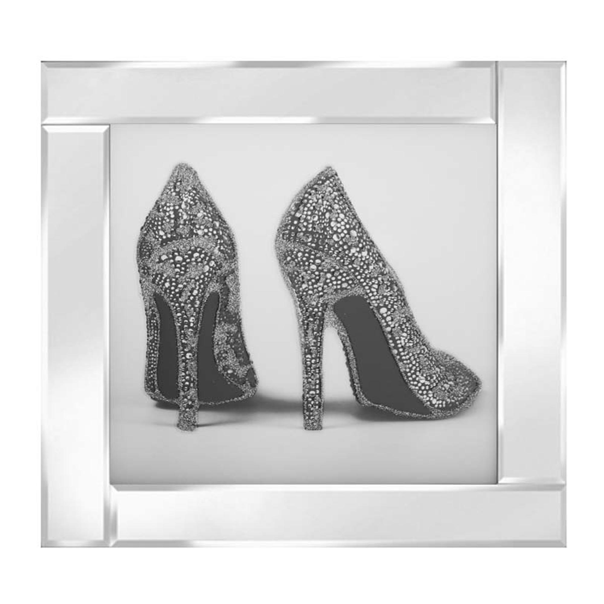 Silver Glitter Shoes   Home Accessories