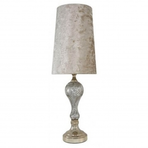 Silver mercury and gold ripple thin table lamp lamp homesdirect365 silver mercury and gold ripple thin table lamp aloadofball Gallery