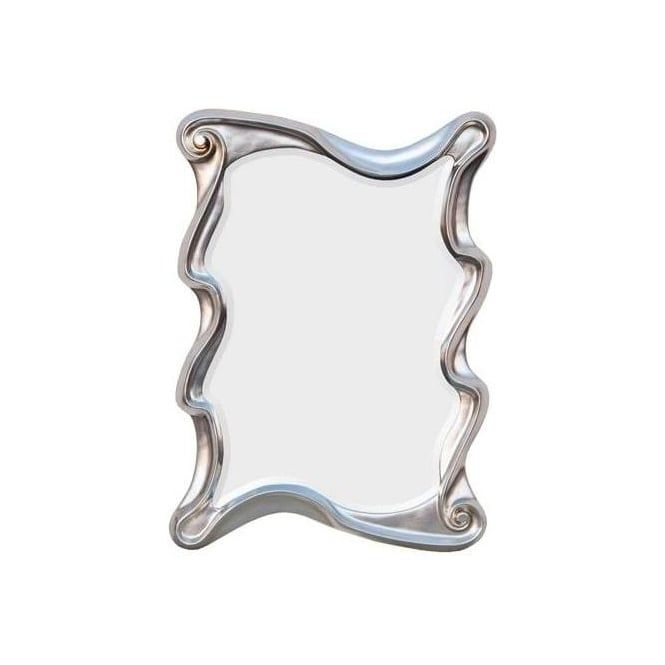 Silver Ribboned Mirror