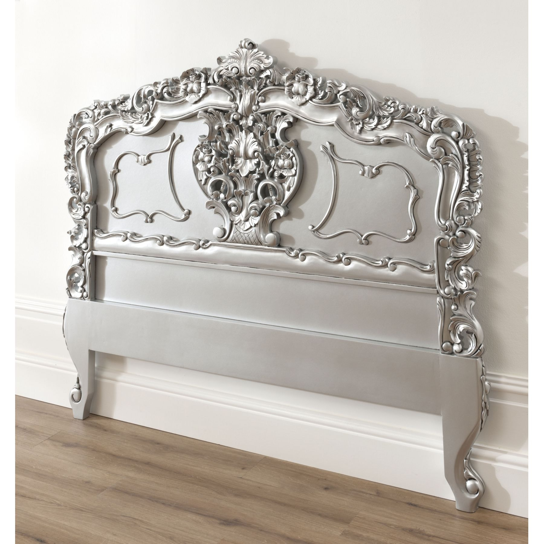 silver rococo antique french headboard available now, Headboard designs