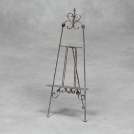 Silver Small Antique French Style Easel