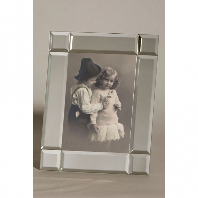 Silver Venetian Style Photo Frame