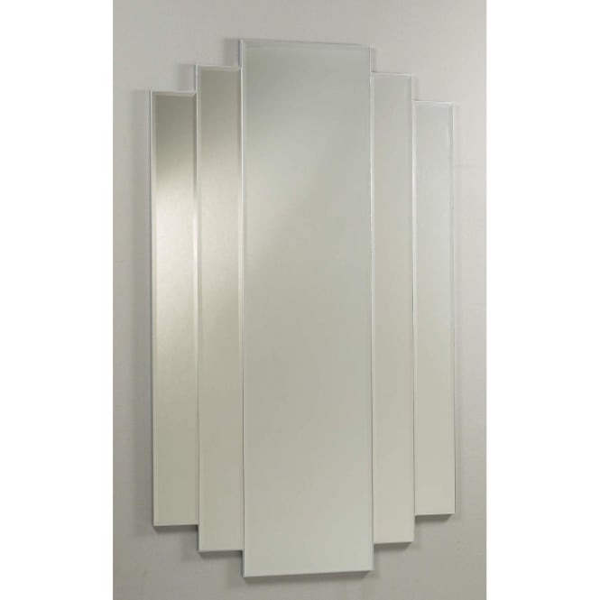Silver Waterfall Mirror
