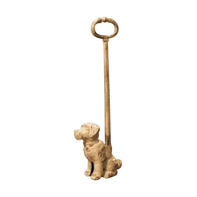 Sitting Dog Doorstop With Handle