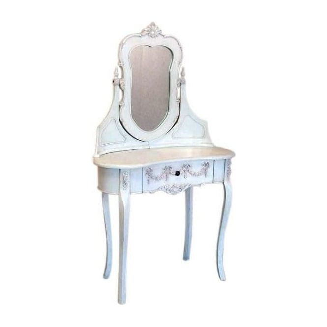 Small Antique French Style Dressing Table