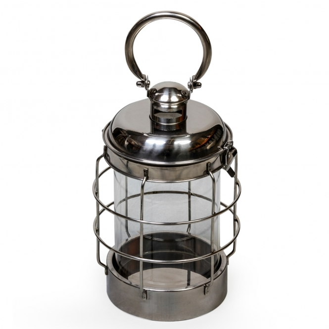 Small Glass Cage Lantern