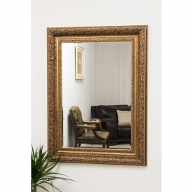 Small Gold Antique French Style Mirror