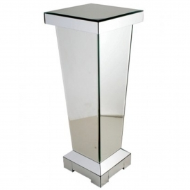 Small Mirrored Pedestal