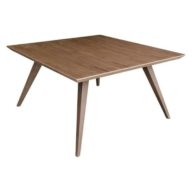 Small Walnut Veneer Dining Table