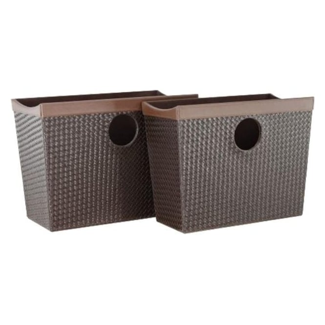 Snakeskin Magazine Holders