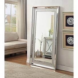 Sofia Mirrored Floorstanding Mirror