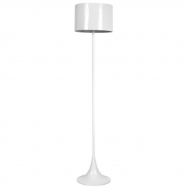 Solid White Floor Standing Lamp