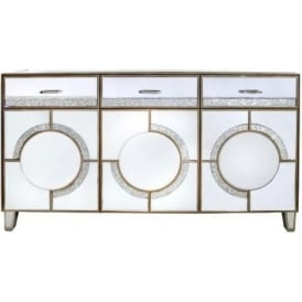 Sondrio Mirrored Sideboard