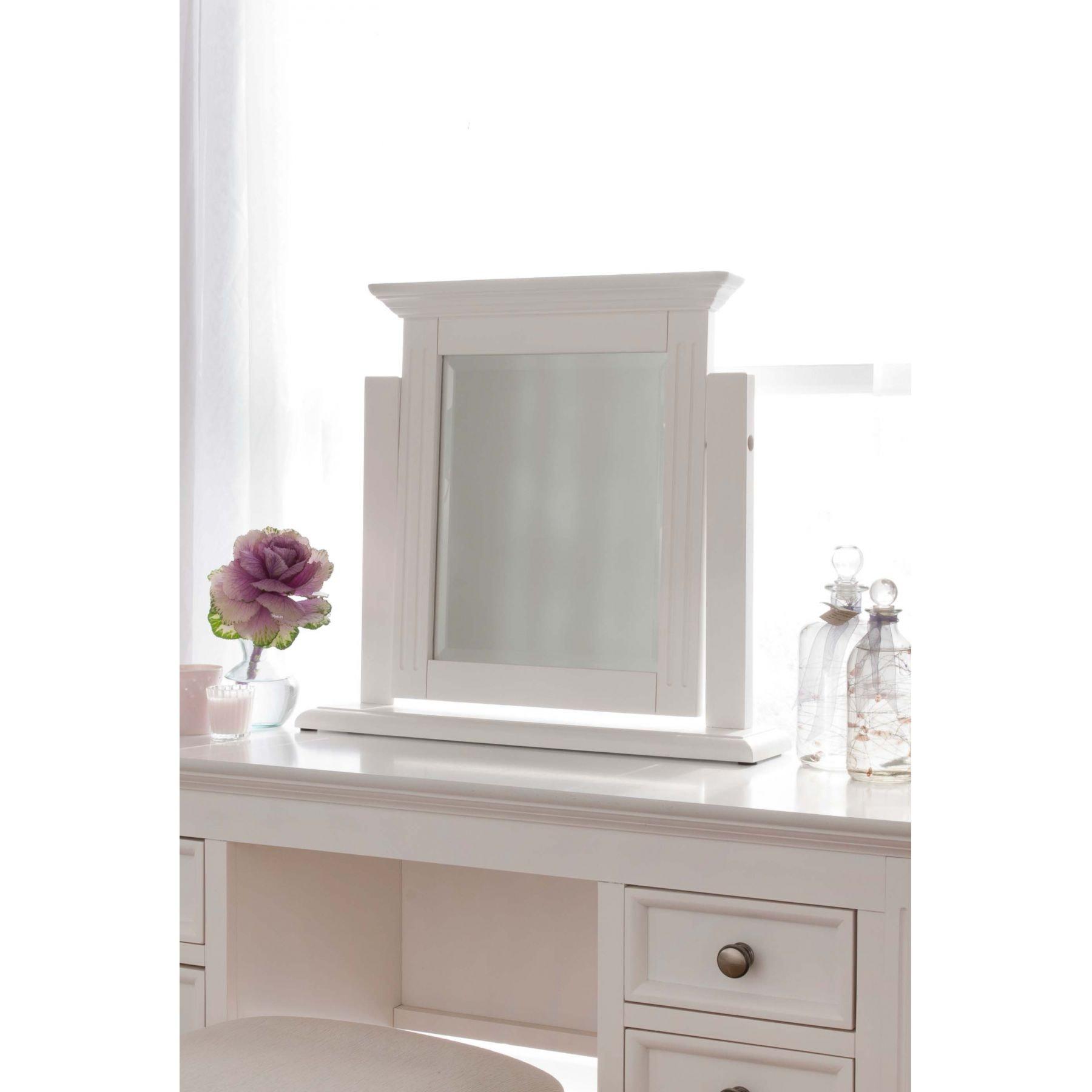 Sophia Shabby Chic Dressing Table Set | White Finished