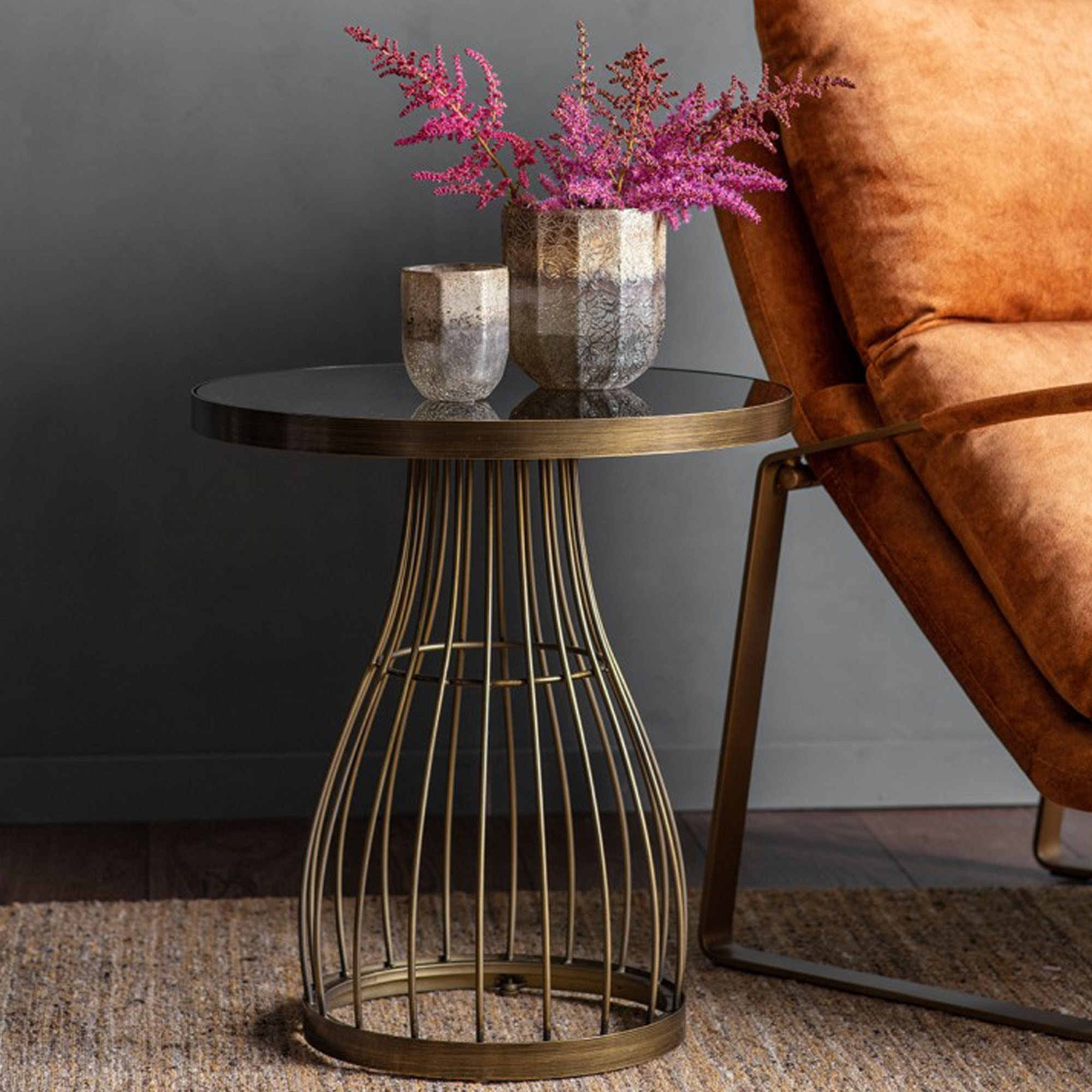 Picture of: Southgate Bronze Side Table Side Tables Bronze Side Tables