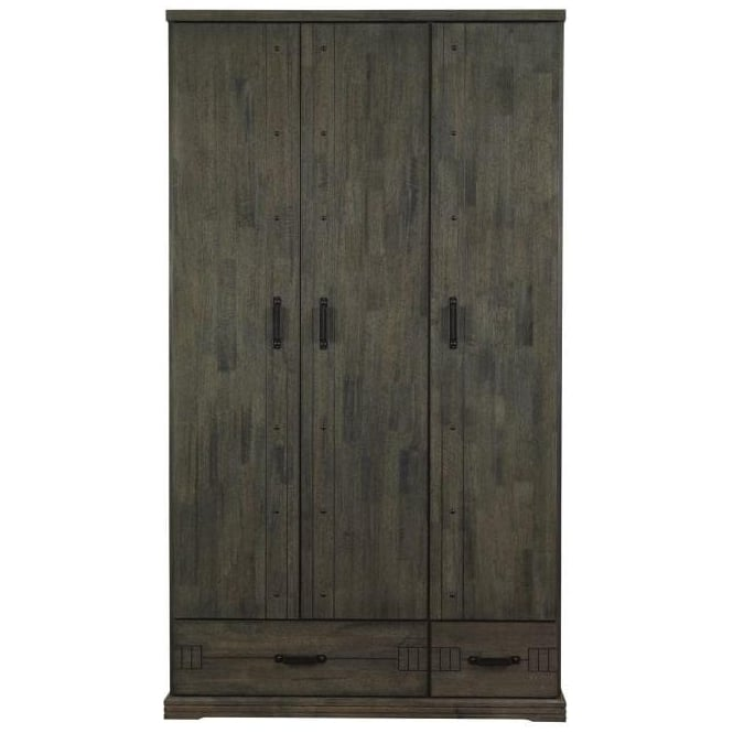 Spark Industrial Style 3 Door Wardrobe