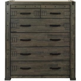 Spark Industrial Style Chest Of Drawers