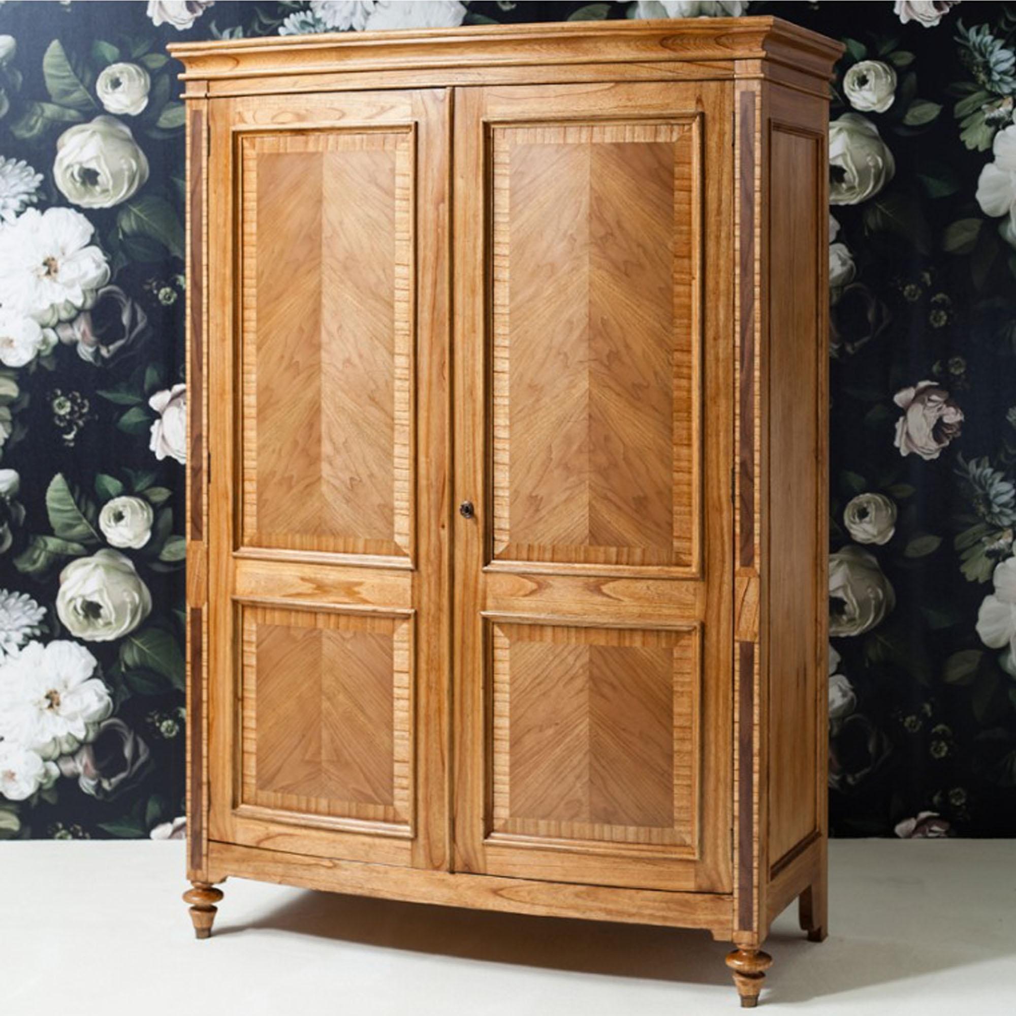 Spire 2 Door Wooden Wardrobe Wooden Wardrobe Wooden Furniture