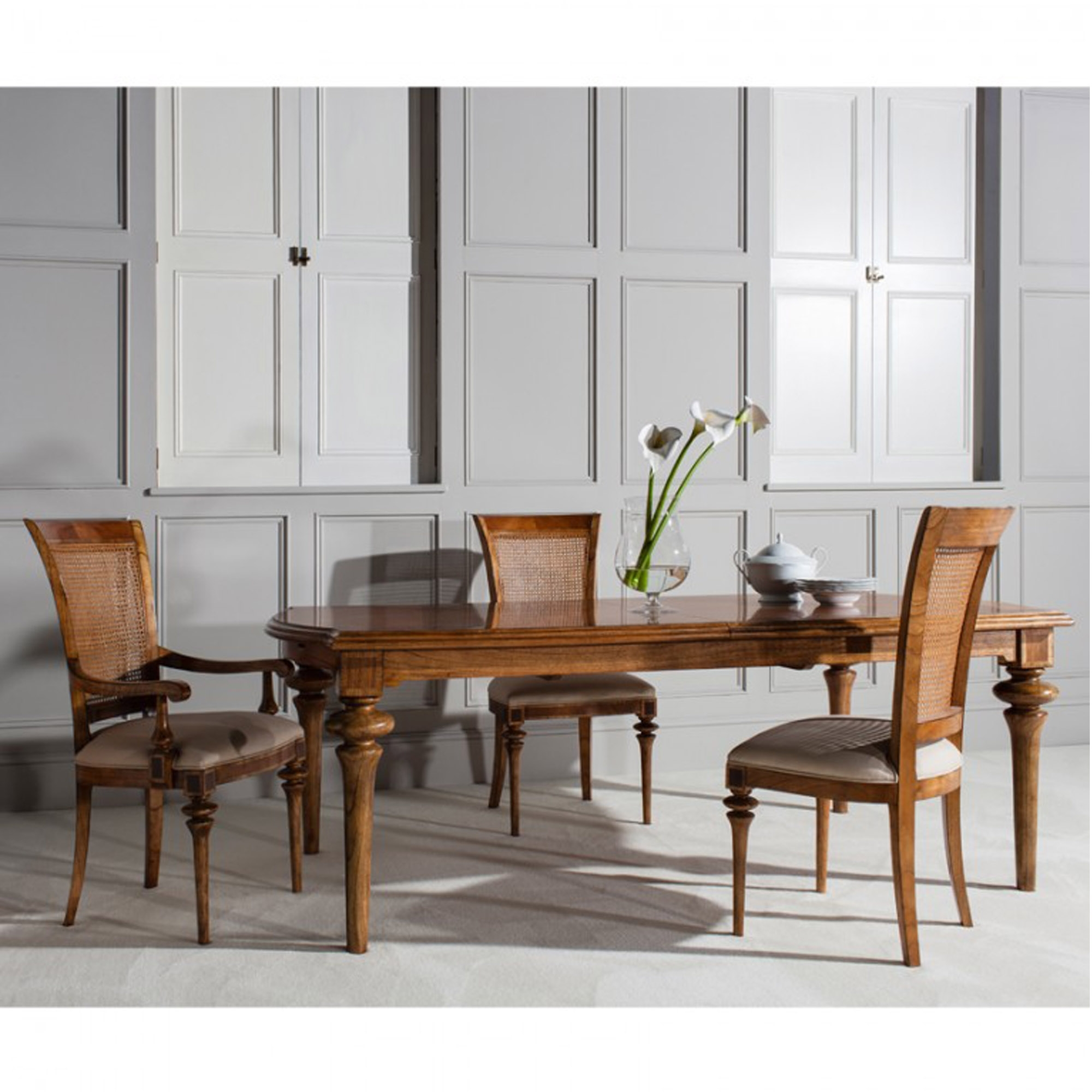 Spire Wooden Extending Dining Table | Dining Table ...