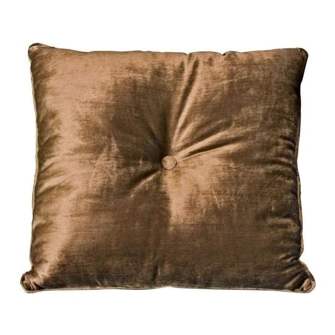 Square Cushion Mocha Velvet